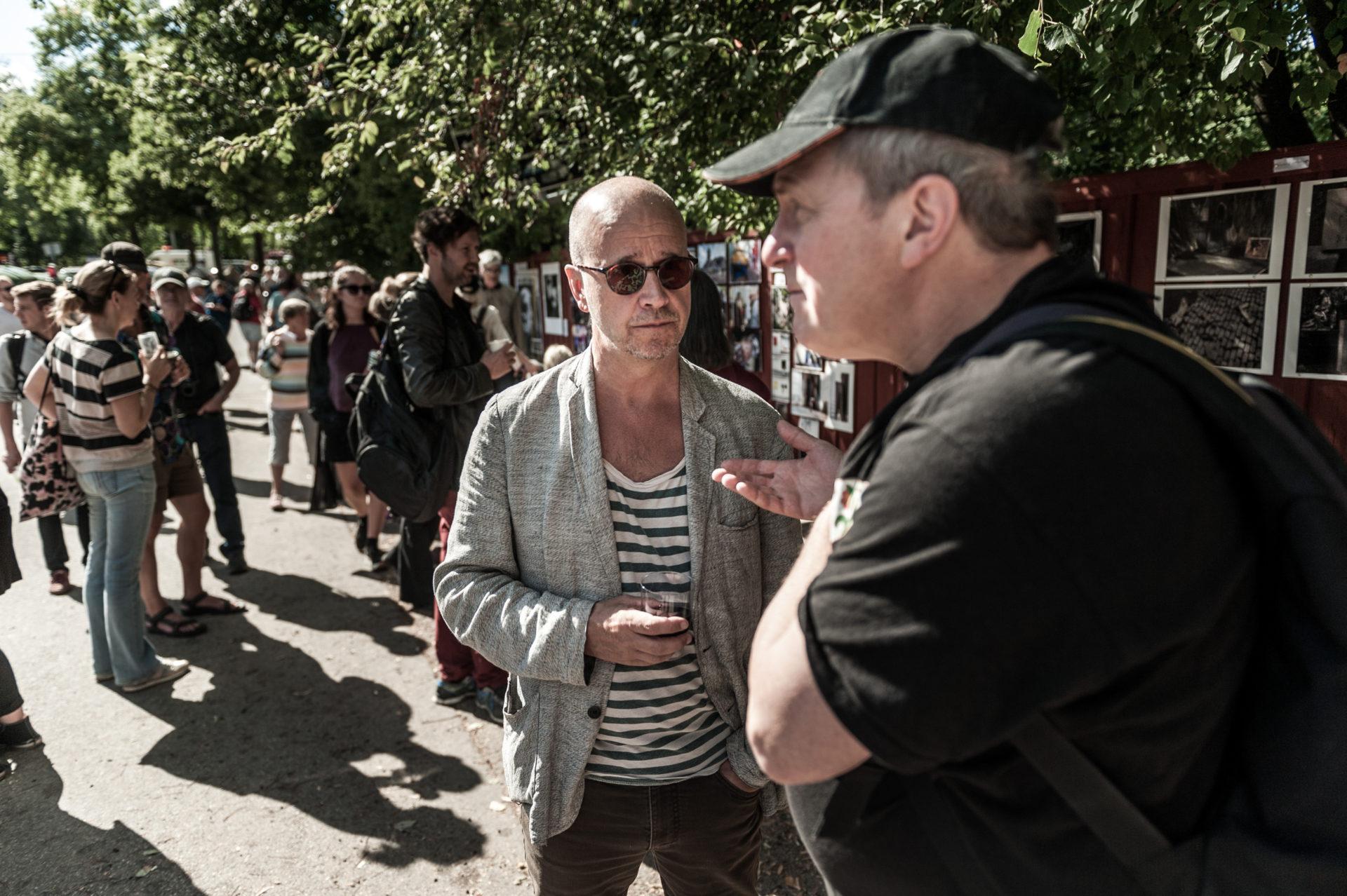På bilden: Cato Lein och Andrzej Markiewicz.